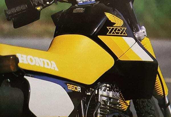 Minha Honda XLX 350R era estúpida, parruda, linda e ciumenta